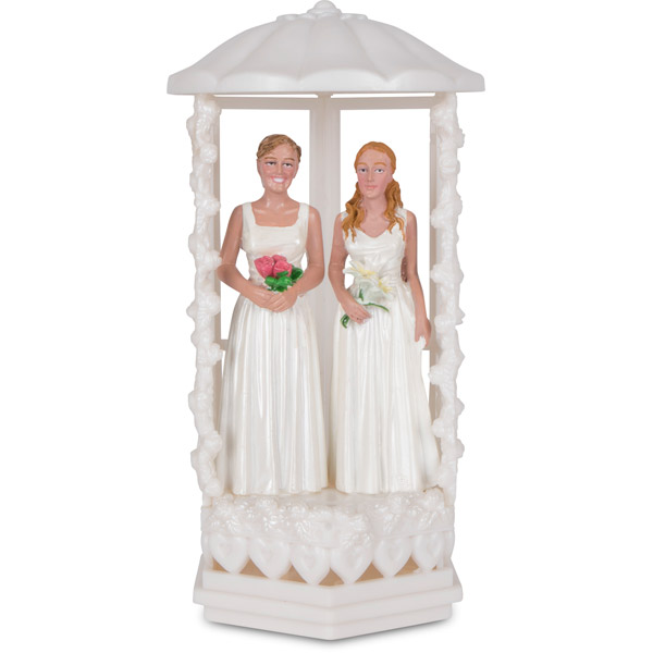 Cake topper two girls