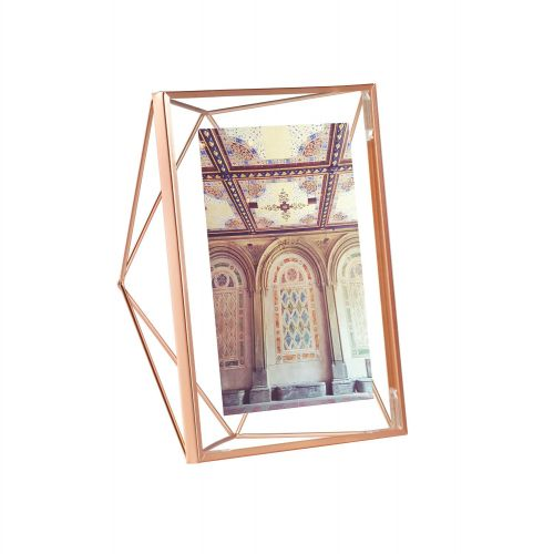 Prisma 5x7 photo display copper