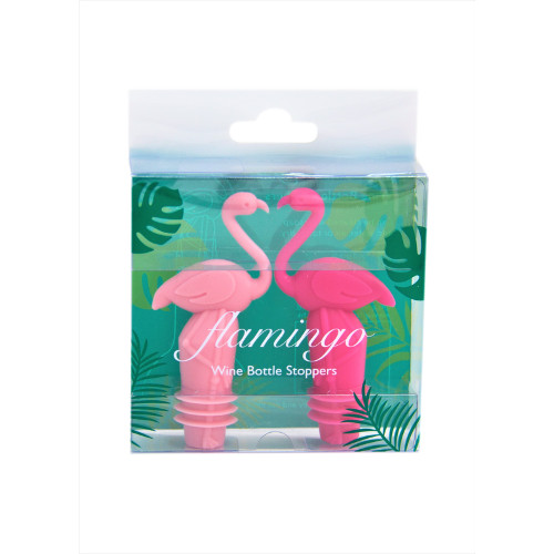Flamingo bottle stopper