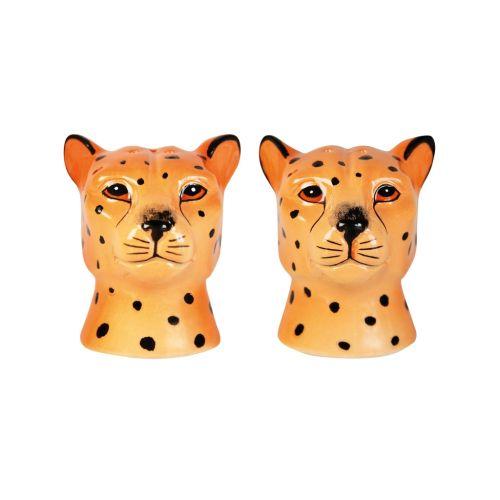 Leopard salt & pepper