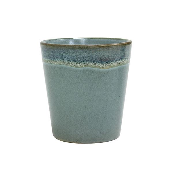 Ceramic 70's mug moss