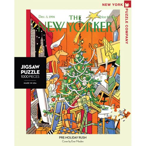 Pre-holiday rush puzzel