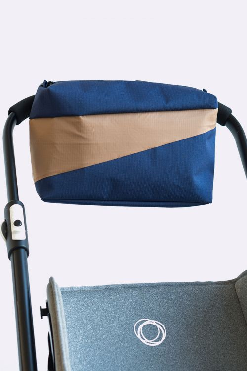 Bum Bag navy & camel M