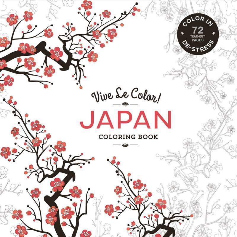 Vive le color! japan coloring book