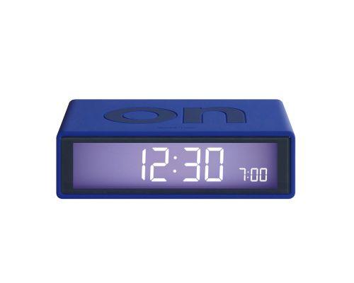 Flip clock dark blue