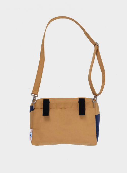 Bum bag camel & navy M