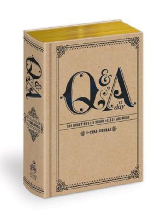 Question & answer a day 5 year journal