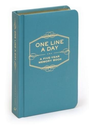 One line a day 5 year memorybook