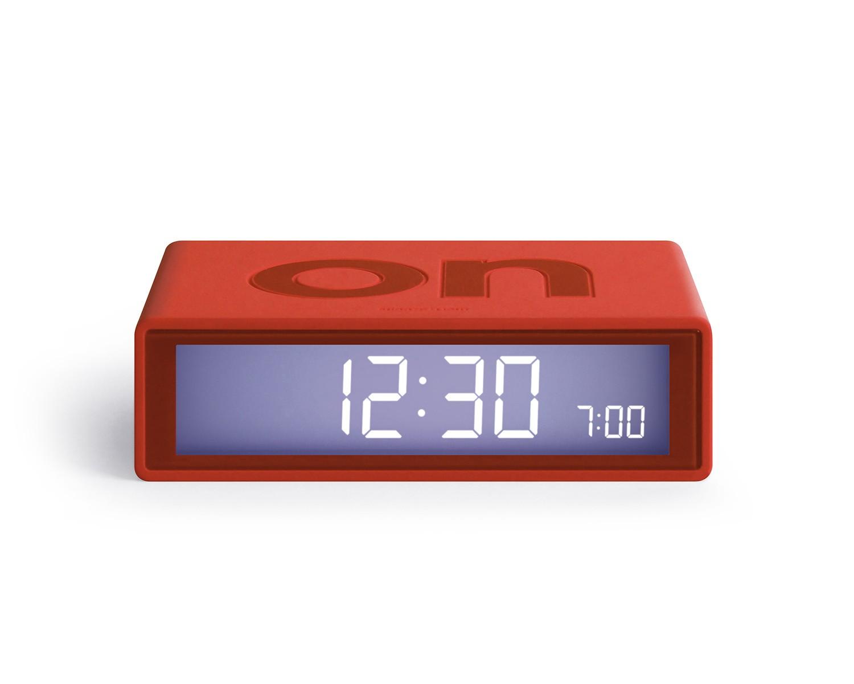 Flip+ alarm clock Red
