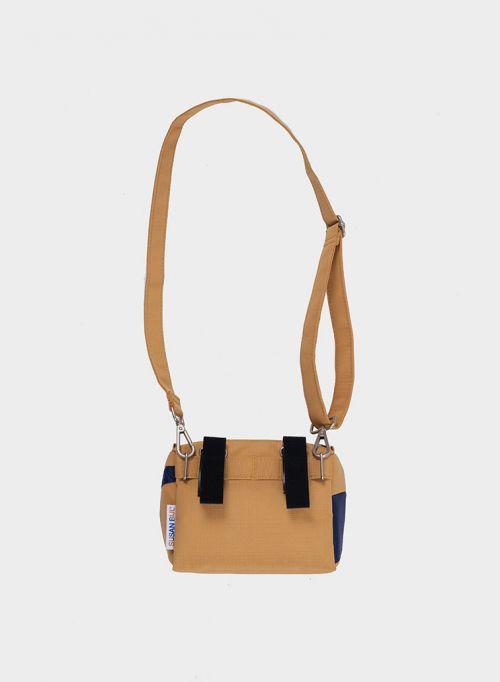 Bum bag camel & navy S