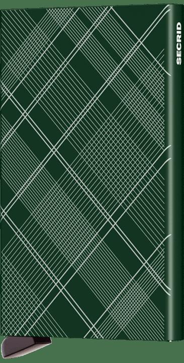 Cardprotector laser tartan green