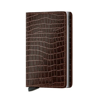 Slim wallet amazon brown leather