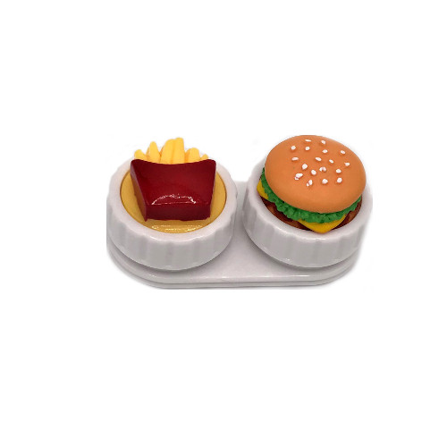 Lens case fastfood