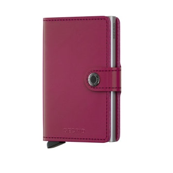 Mini wallet fuchsia
