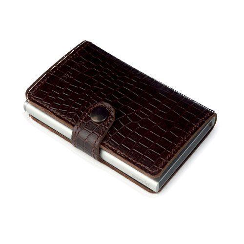 Mini wallet amazon brown leather