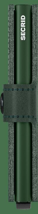 Mini wallet green