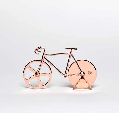 Fixie pizzasnijder copper