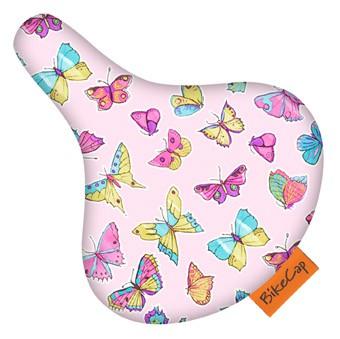 Bikecap sweet butterfly pink