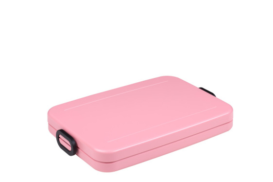 Lunchbox to go flat nordic pink