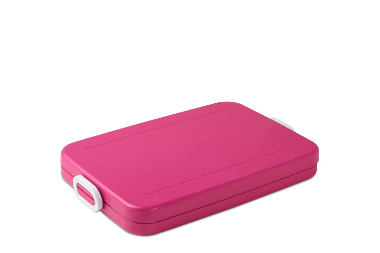 Lunchbox to go flat pink
