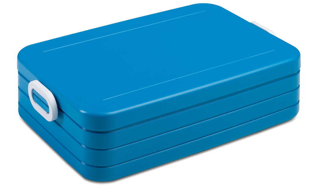 Lunchbox to go large blauw