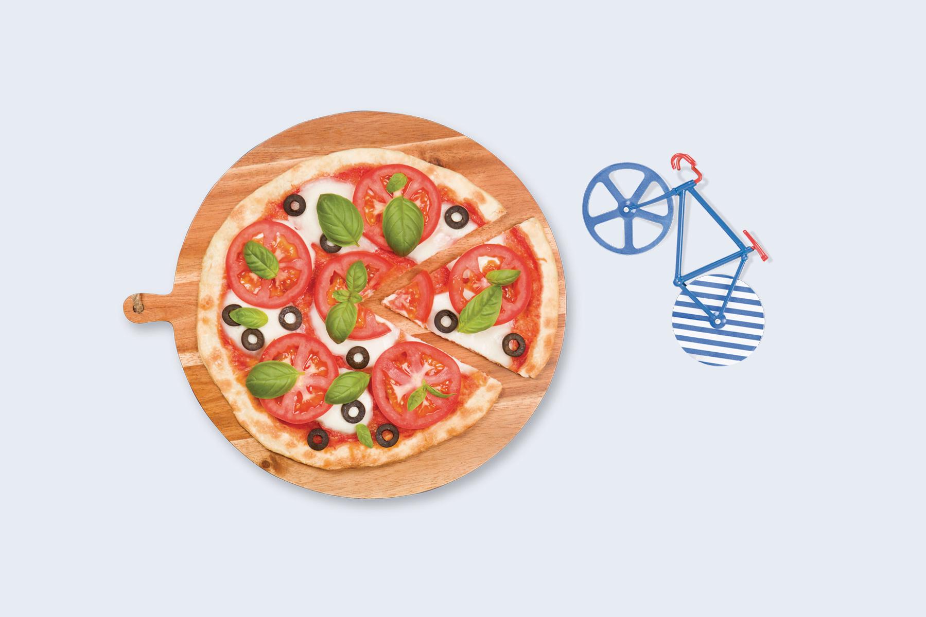 Fixie pizzasnijder Riviera