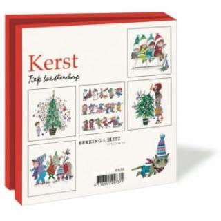 Fiep Westendorp kerstkaarten set vierkant