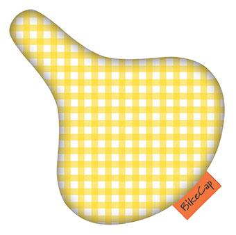 Bikecap yellow checkmate