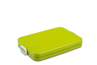 Lunchbox to go flat lime