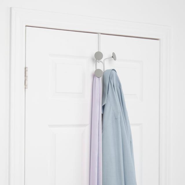 Yook over the door hook 4 white grey