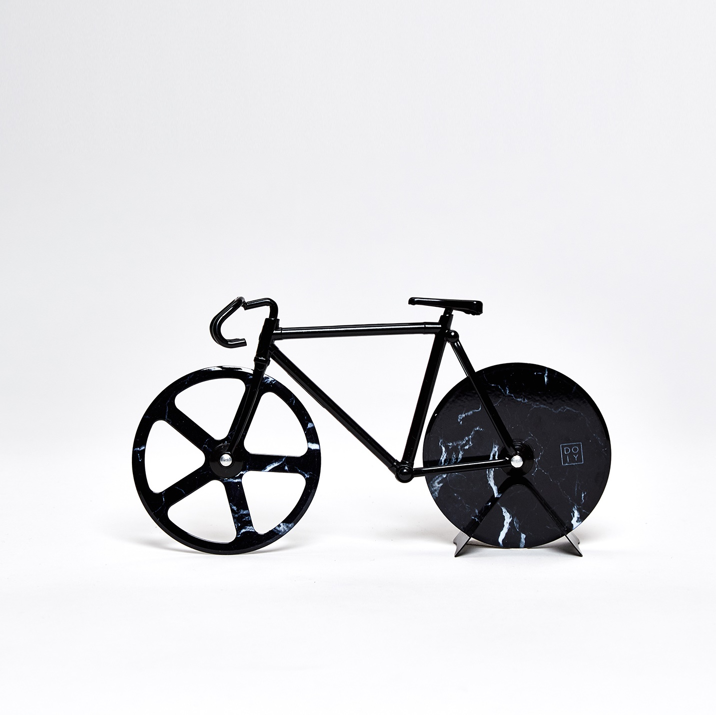 Fixie pizzasnijder marble black