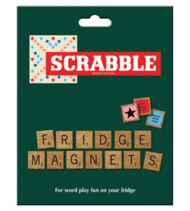 Scrabble fridge magneten