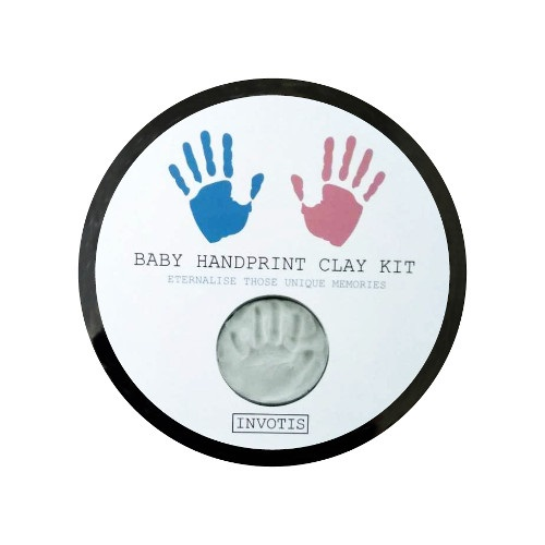 Baby handprint clay kit