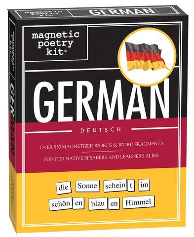 Magnetic poetry German