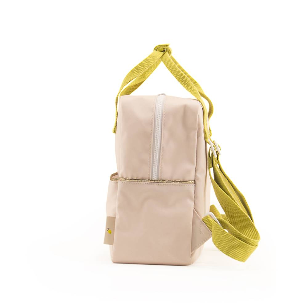 Sticky lemon backpack small nude pink