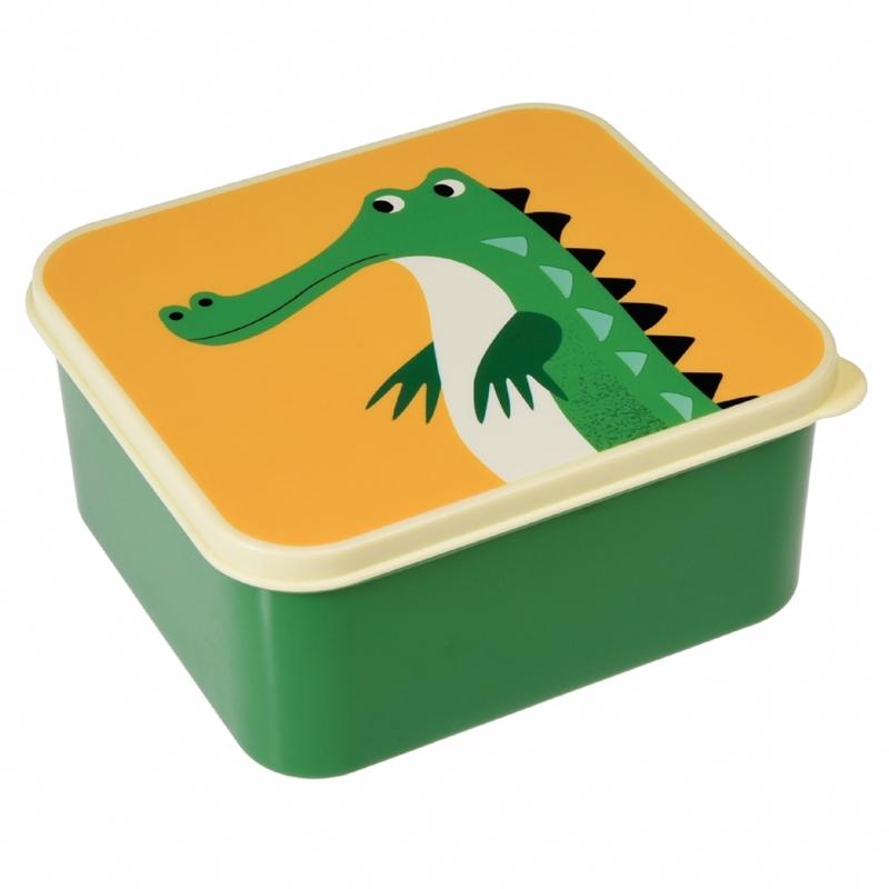 Lunchtrommel crocodile