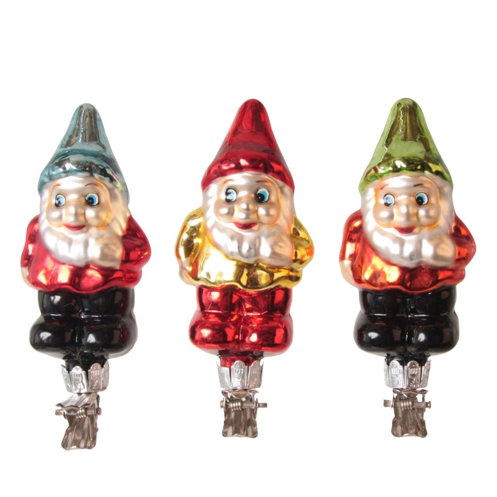kabouter ornaments set van 3