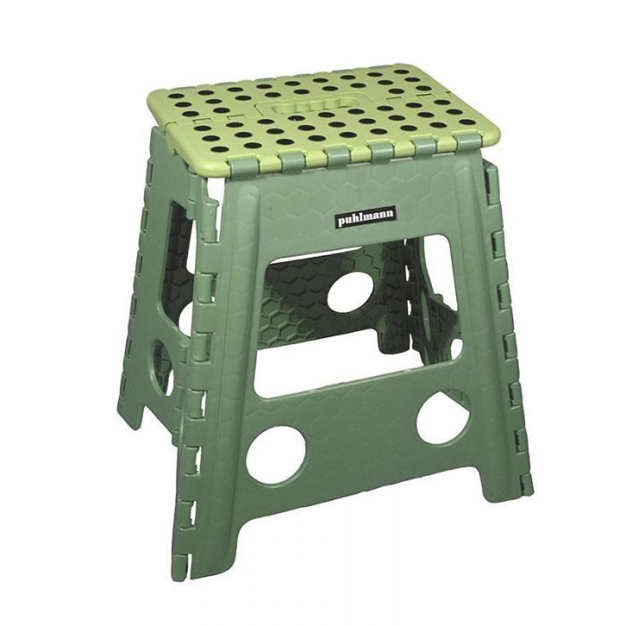 James XL foldable stool green