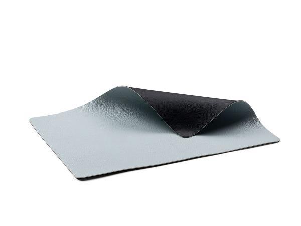 Placemat 46x33 black blue