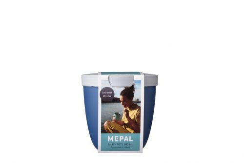 Snackpot ellipse 500 ml nordic denim