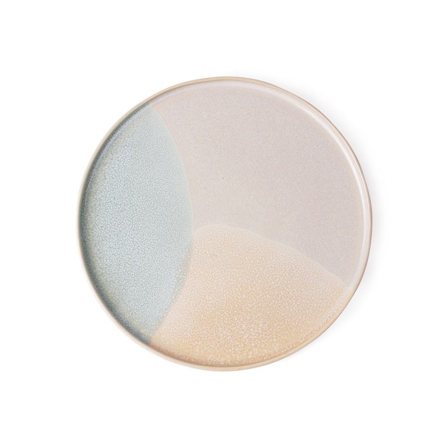 Gallery ceramics round side plate mint nude