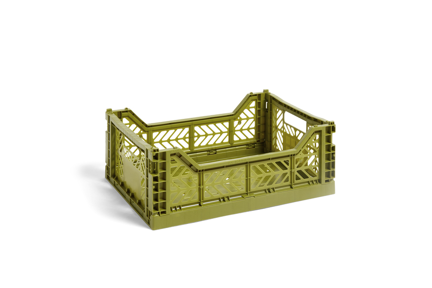 Hay Colour Crate M olive