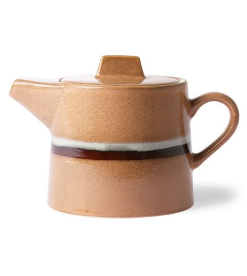 Ceramic 70's teapot stream