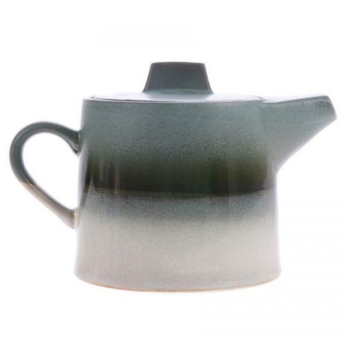 Ceramic 70's tea pot glacier
