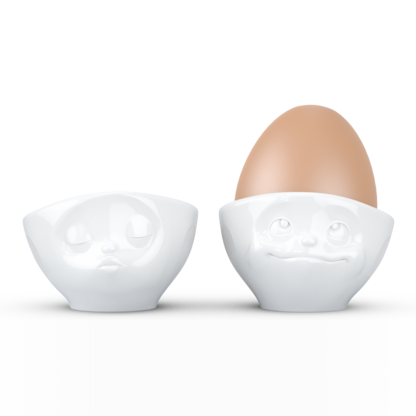 Egg cup set of 2 dreamy & kissing