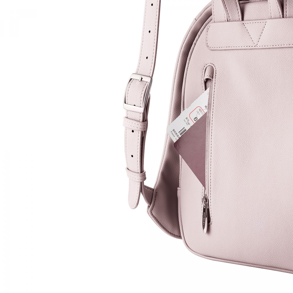 Bobby elle anti-theft backpack pink