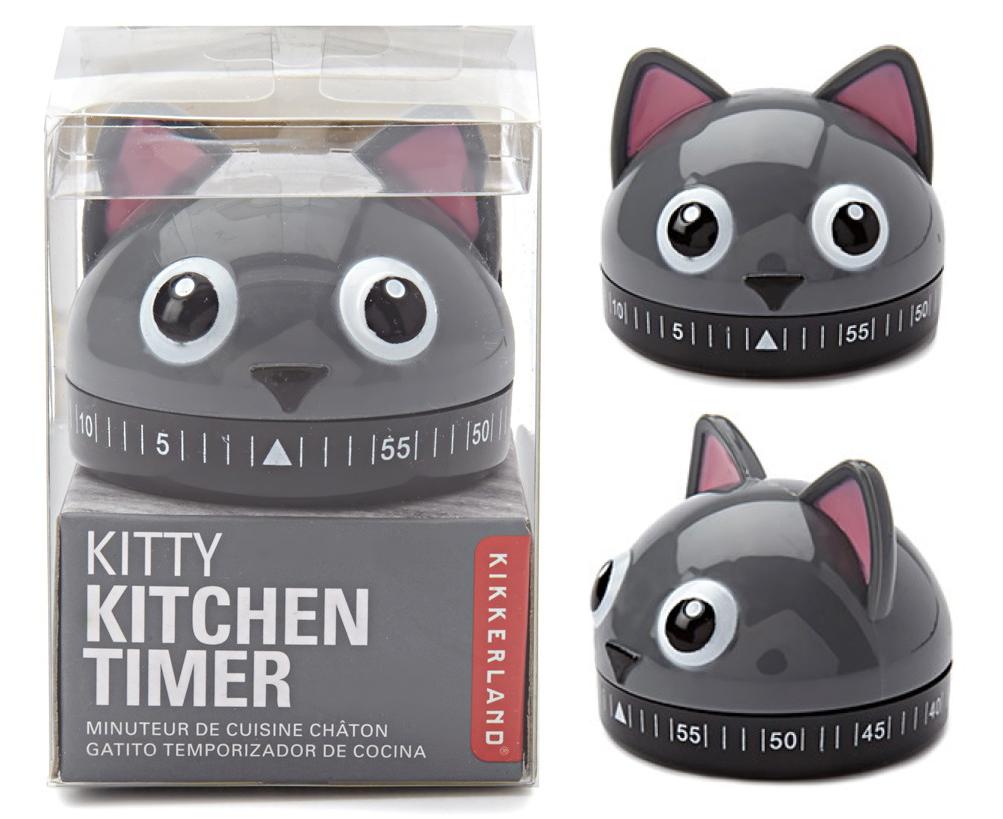 Kitchen timer cat
