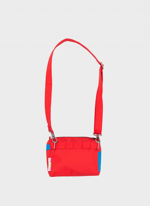 Bum bag redlight & sky blue S