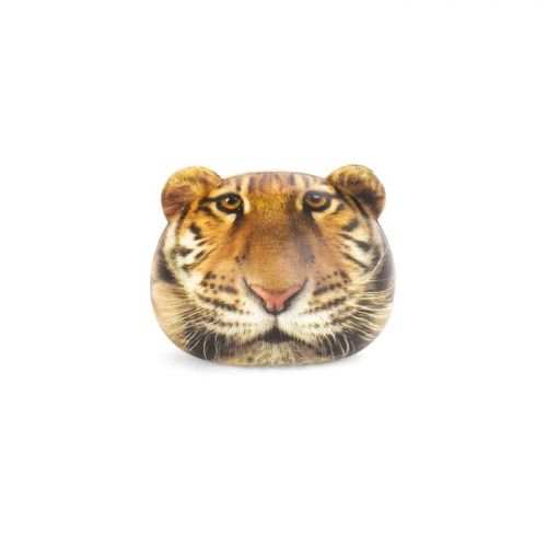 Feline fire stress ball tiger