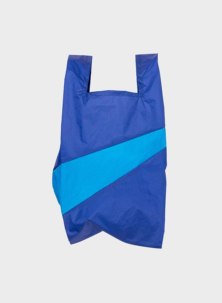 Shoppingbag 2006 electric blue & sky blue M